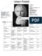 acting cv - kirsteen riddell  equity name