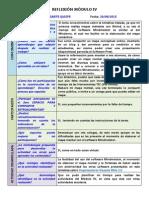 Reflexión y Autoevaluación Módulo 4_AME
