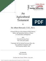 An Agricultural Testament 1943(3)