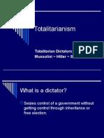 160 Totalitarianism