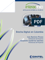 23.Brecha Digital Brecha Digital en Colombia