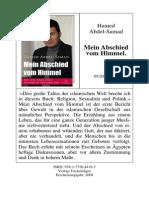 Mein Abschied Vom Himmel. Aus Dem Leben Eines Muslims in Deutschland