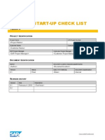 Project Setup Checklist_Sample