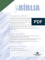 Quadro de Leitura Da Bíblia