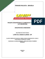 Universidade Paulista Relatório (1)