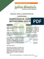 Manual Manipulador Qualitas Alimentaria 20151
