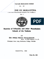 Doctrine of Srikantha (and other Monotheistic Schools of the Vedanta) Vol 1