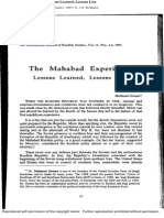 Mahmud Osman - The Mahabad Experience; Lessons Learned, Lessons Lost
