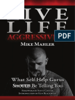 Mike Mahler Live Life Aggressively What Self Help Gurus Should Be Telling You
