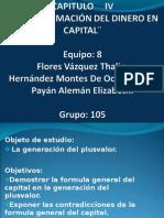 TRANSFORMACION DEL DINERO EN CAPITAL