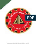 Resumen del Codigo de Etica del Colegio de Ingenieros