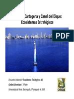 Bahia de Cartagena Ecosistema Nacional