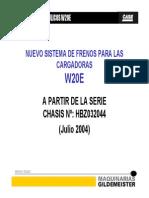 Frenos W20E-621D