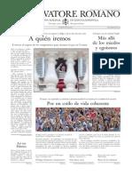 L´OSSERVATORE ROMANO - 28 Agosto 2015