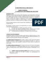 Resumen de Derecho Procesal Chileno