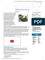 Flowforming - Metal Spinning (Spin Forming) _ PMF Industries _ PMF Flow Forms One-piece Assemblies Using Metal Spinning, Electromagnetic Forming, Spin Forming, Press Forming & Deep Drawing
