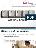 Email Writing Skills for tcs