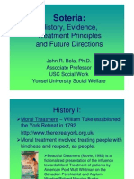History, Evidence, Treatment Principles and Future Directions
