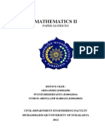 3. Mathematics II-matrices