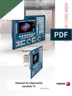 Manual de Torno CNC Fagor 8055(i) y 8055(i)
