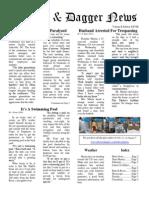 Pilcrow and Dagger Sunday News 8-30-2015 Vol 2 Ed 28