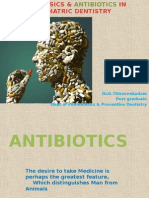 Analgesics & Antibiotics in Pediatric Dentistry