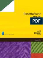 Rosetta Stone English British