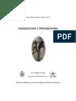 Modernismo y Progresismo, Fr Alberto Garcia Vieyra OP