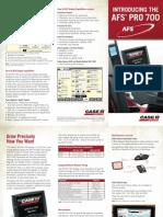 AFS Pro700 Brochure AFS-8018-10