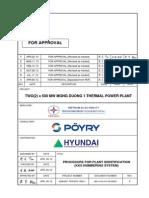 Procedure for Plant Identification(KKS Numbering System)