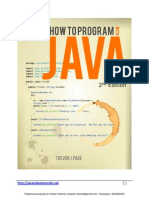 How to Program With Java eBook