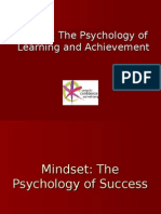 Mindset Presentation for Teaching Adults