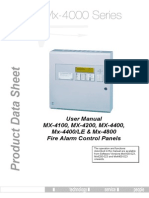 MX 4000 Series User Manual