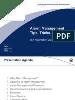 Alarm ManagementTips, Tricks, Traps