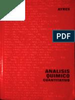 Analisis Quimico Cuantitativo - Ayres