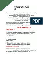 Clasificacion,Nomenclatura y Movimientos de Las Cuentas T