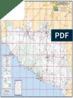 Mapa del Estado de Guerrero