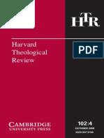 Harvard Theological Review Vol. 102 (4)