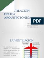 ventilacion eolica