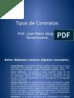 4.- Tipos de Contratos