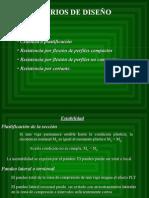 Criterios de Diseño Por Flexión