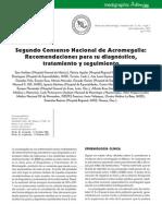 Segundo Consenso Acromegalia 2007