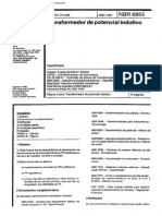 NBR 06855 - 1992 - Transformador de Potencial Indutivo