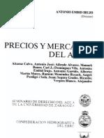 Bauer Calif Mkts 1996 Precios y Mercados Del Agua