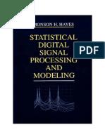 m Hayes Statistical Digital Signal Proc Part 1