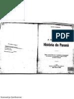 A História Da História Do Paraná