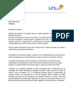 Carta de Presentacion Lps Pedro Torrens