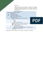 Definir Una Variante Del Ejercicio SAP