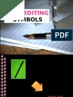 Copy Editing Symbols (based on PDI stylebook)