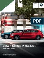 F20 1 Series Hatch 5door Pricelist